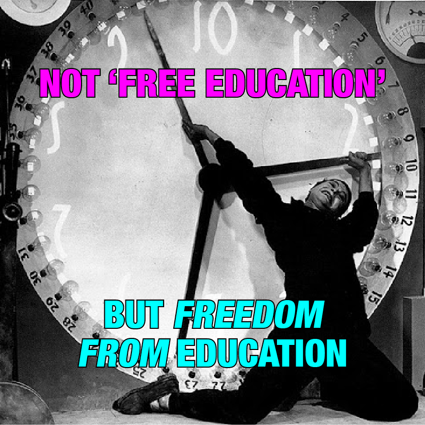 the freedom of education Free sample essay on education in freedom knowledge has always been represented by light, and ignorance has been symbolized by darkness hence education, the key to all knowledge and yet more knowledge.